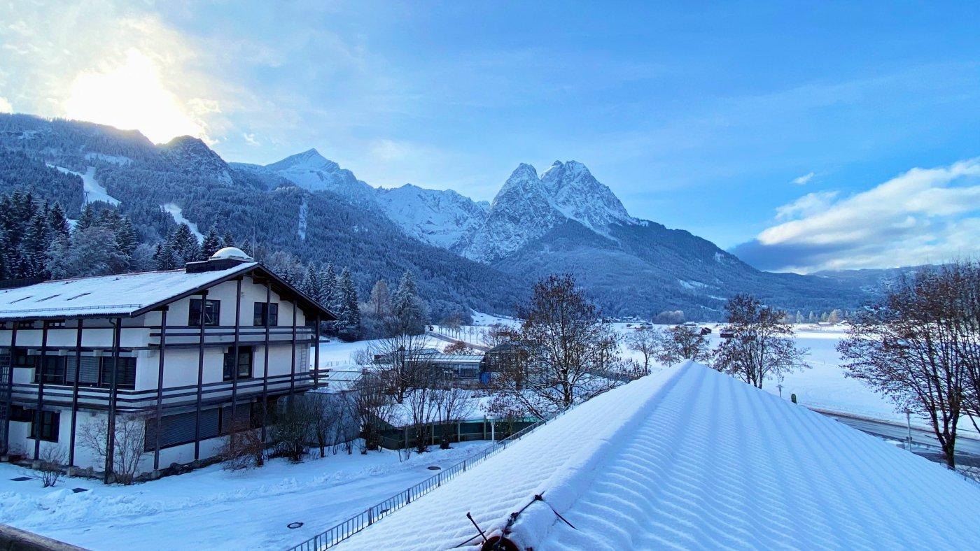 KIT Campus Alpin (IMK-IFU) in winter